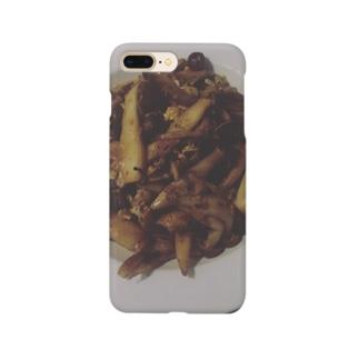 きのこ炒め(レモンを添えて) Smartphone cases