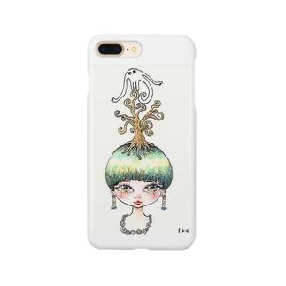 花咲かないおばけ Smartphone cases