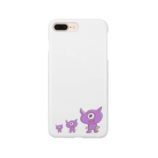 疲れ目メンメン祭り Smartphone cases
