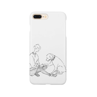 hicono webstoreのマイフレンド Smartphone cases