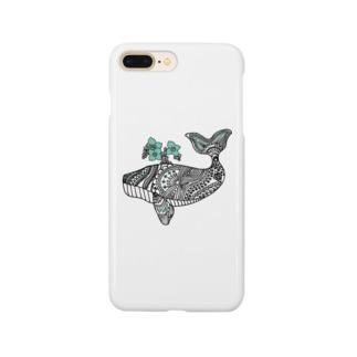 花咲くクジラ Smartphone cases