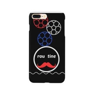 ルーティン君 Smartphone cases