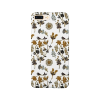 架空植物Ⅱ_sepia Smartphone cases