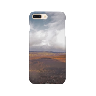 伊豆大島裏砂漠 Smartphone cases