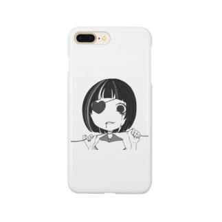 首絞めぼぶちゃん Smartphone cases