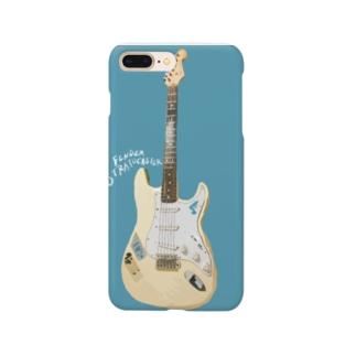 ストラト な青 Smartphone cases