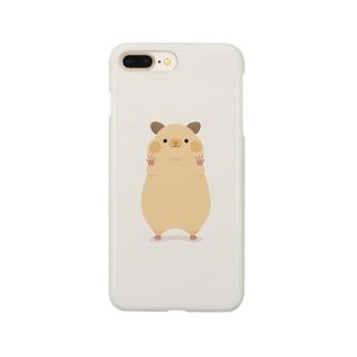 キンクマが見つめてくるケース Smartphone cases