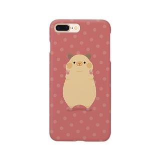 キンクマが見つめてくる Smartphone cases