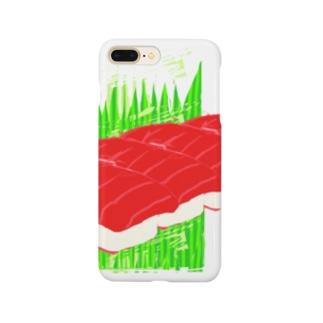 まぐろ4貫 Smartphone cases