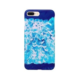 イソギンチャクの生息 Smartphone cases