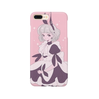 うさウェイトレス Smartphone cases