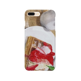 Strawberry waffle  Smartphone cases