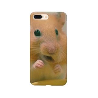 ハムスター の もごもご Smartphone cases
