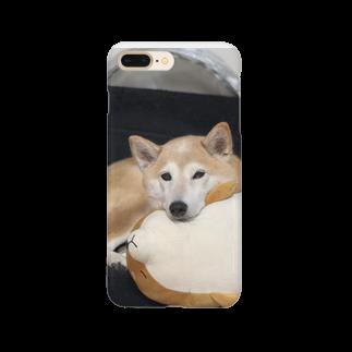 konkororin屋さんのあざとすぎイヌ Smartphone cases