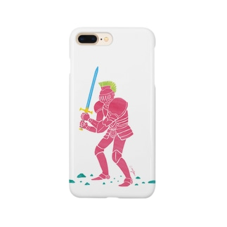 pink knight Smartphone cases