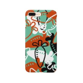 Vegetable01(Green) スマートフォンケース