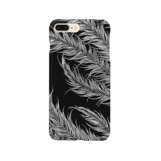 Circle-airborn. Black Smartphone cases