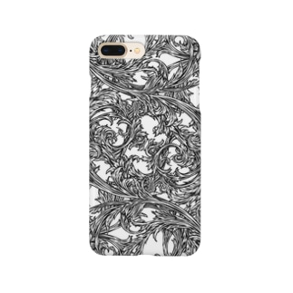 Circle-03. White Smartphone cases