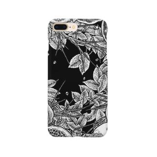 Circle-02. Black Smartphone cases