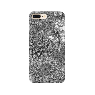 Circle-01. White Smartphone cases