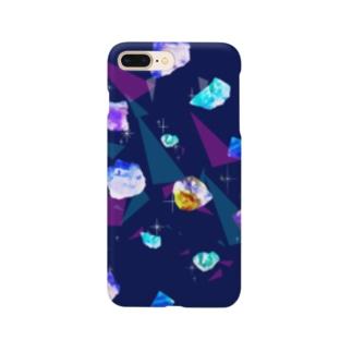 鉱物柄 Smartphone cases