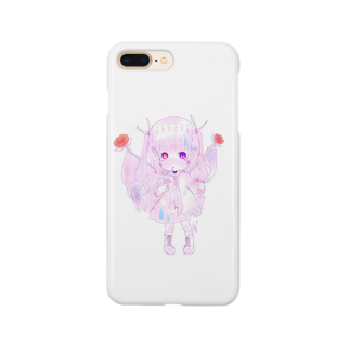 にっこりさんの【愛の哀】 Smartphone cases