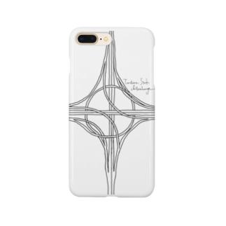 ハーフタービン型インターチェンジ Smartphone cases