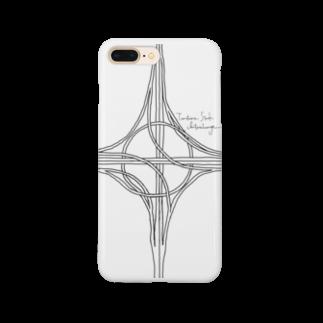 Rakushigeショップのハーフタービン型インターチェンジ Smartphone cases