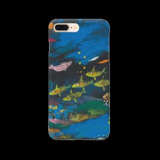 savaのうみのなか 小魚たちの世界 Smartphone cases