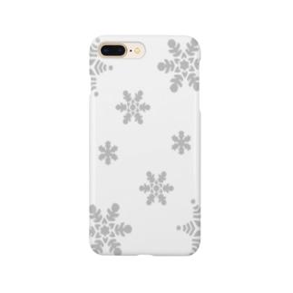 スノーフレーク Smartphone cases