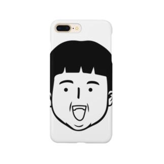 しつこい少年 Smartphone cases