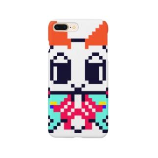 ドット絵オオミズアオちゃん Smartphone cases