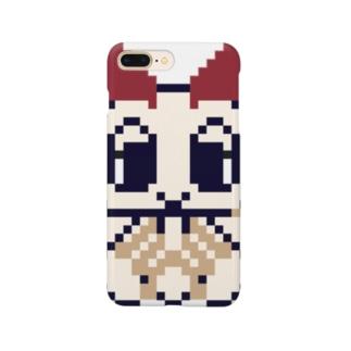 ドット絵カイコガちゃん Smartphone cases