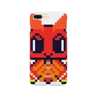ドット絵ヨナグニサンちゃん Smartphone cases