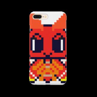 MSHT SHOPのドット絵ヨナグニサンちゃん Smartphone cases
