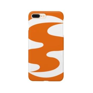 コガ_橙 Smartphone cases
