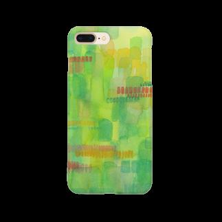 あとりえ あおきゃたつのrhythmical Smartphone cases