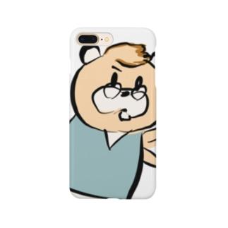 メガネイタチくん  やった! Smartphone cases