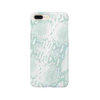 パイソンパターン Smartphone cases