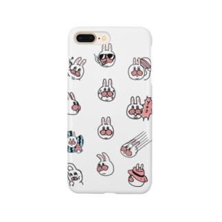 うさぎのササキづくし Smartphone cases