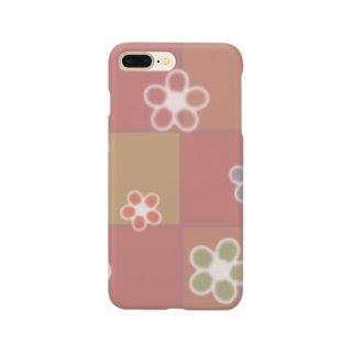 和花柄 Smartphone cases