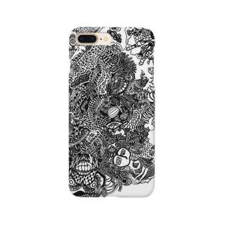 ものくろーむ Smartphone cases
