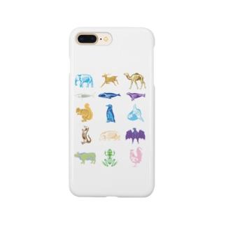 Animalia Anatomy Smartphone cases