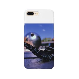 10月7日の蝶 Smartphone cases