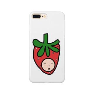 いちご人 Smartphone cases