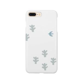 鳥と木 Smartphone cases