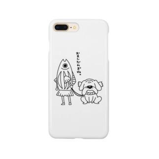 土佐弁警察かつおくん Smartphone cases