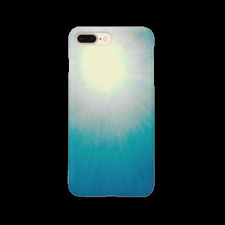 mixethnicjamamaneseのMixEthnicJamanese 太陽 Smartphone cases