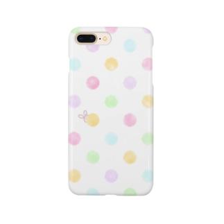 水玉かくれんぼ Smartphone cases