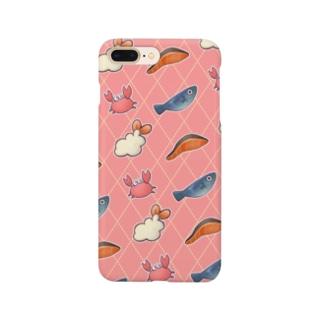 おいしいうみのさち Smartphone cases